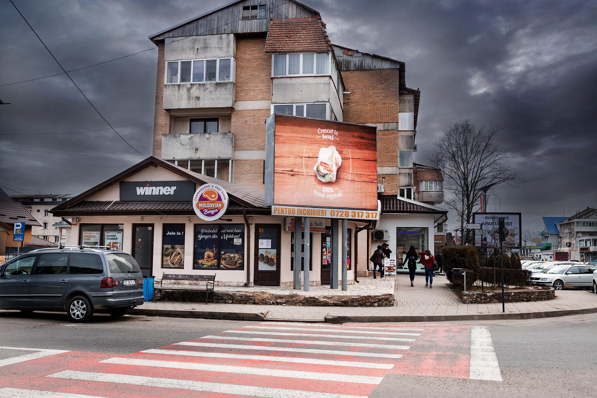 Moldavian Burger