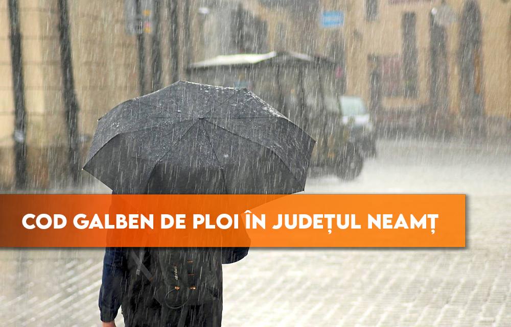 COD GALBEN de ploi în județul Neamț